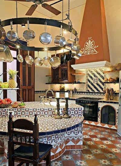 Como decorar una cocina al estilo mexicano for Decoracion de interiores estilo mexicano