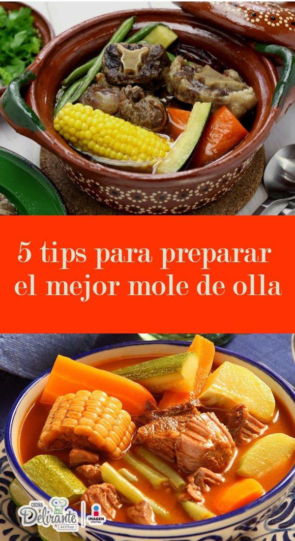 Cómo hacer el mejor mole de olla | CocinaDelirante