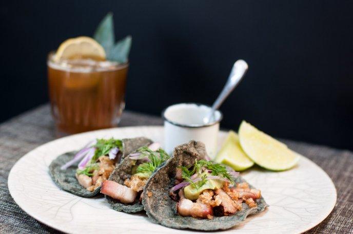 como hacer salsa de cacahuate para tacos