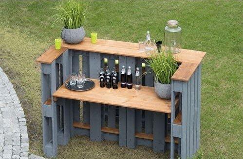 Como hacer una mesa con huacales Como construir una mesa