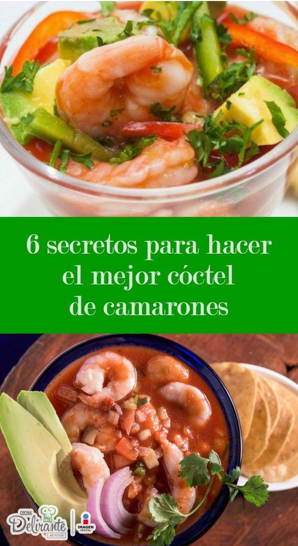 C mo preparar el mejor c ctel de camarones cocinadelirante - Coctel de marisco ingredientes ...