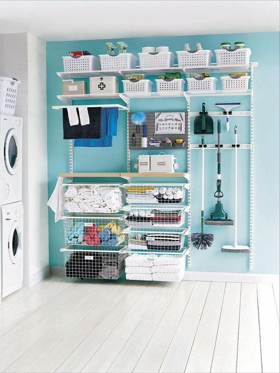 como puedo ordenar el cuarto de lavado