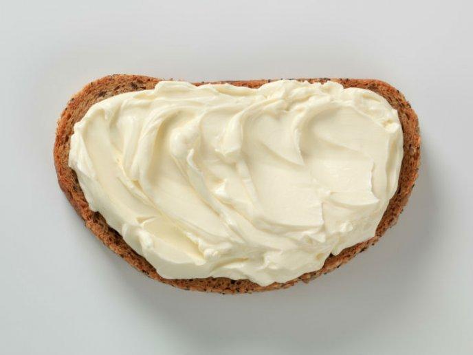 componentes del queso crema