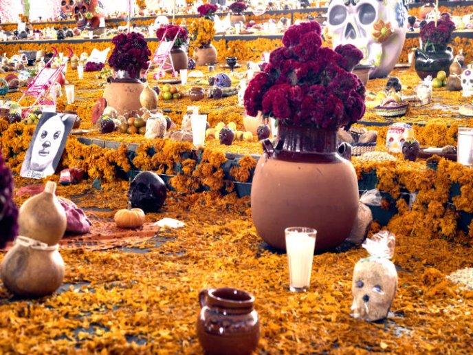conservar flores de ofrenda