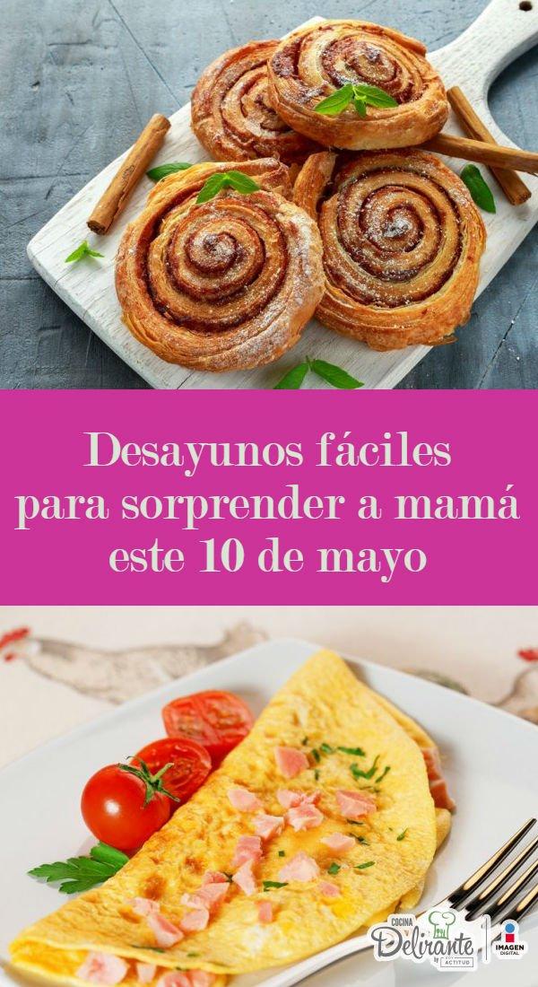 Desayunos Para El Dia De La Madre Recetas