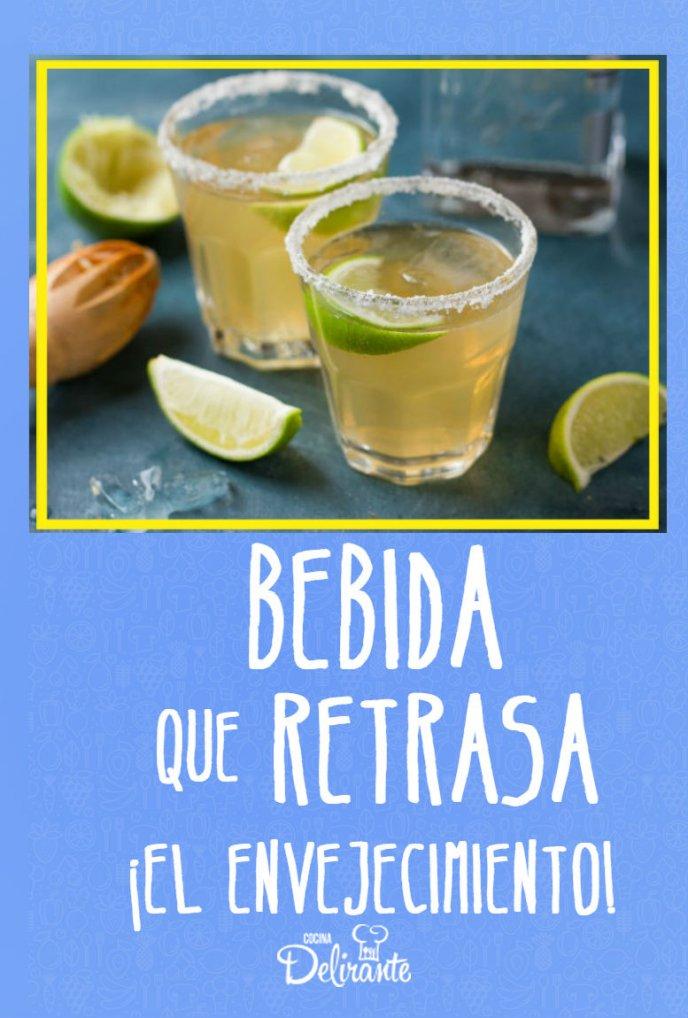 el tequila evita el envejecimiento