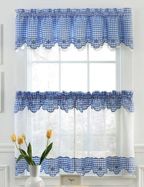 Estilos de cortinas para la cocina - Estilos de cortinas para cocina ...