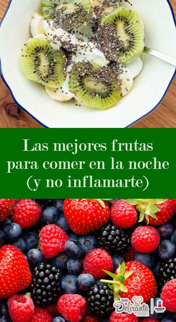 Fruta por la noche dieta