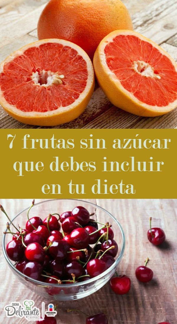 Lista azucar alimentos sin