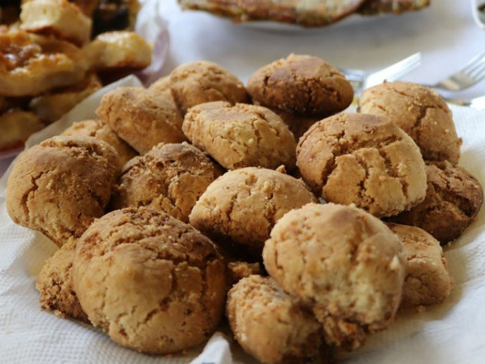galletas de avena con dos ingredientes