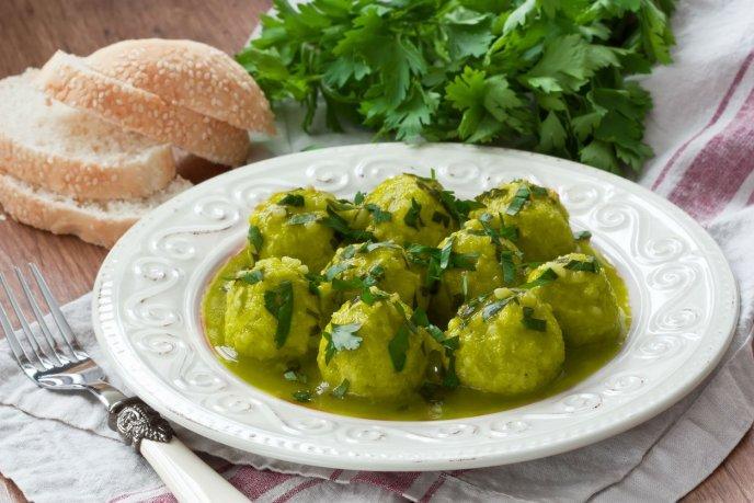 guisados con salsa verde