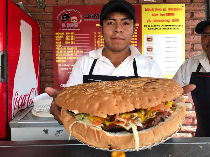hamburguesas las colosales en izcalli
