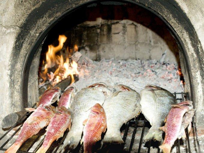 Cocci n por horno de tierra cocinadelirante - Horno de piedra ...