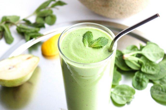 jugos verdes para adelgazar el abdomen en la noche