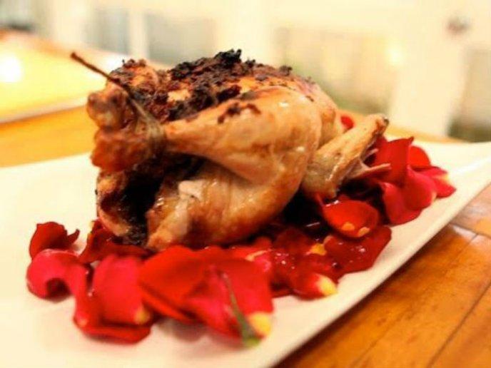recetas con petalos de rosas rojas