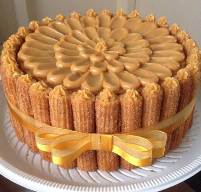 Receta de pastel de churros | CocinaDelirante