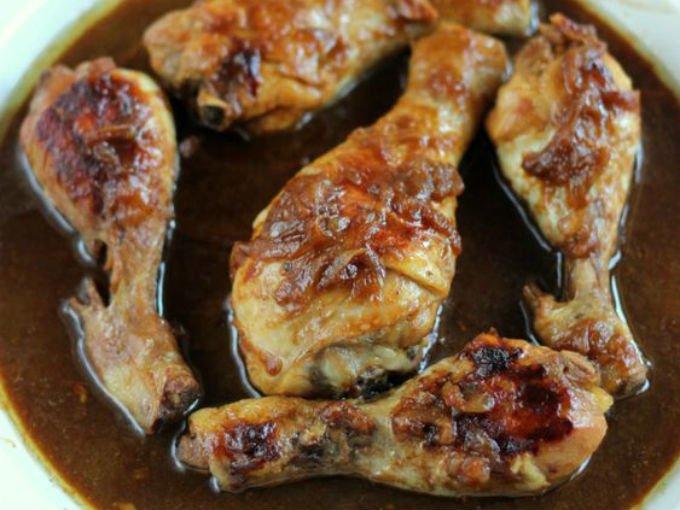 Prepara Un Jugosito Pollo Encebollado