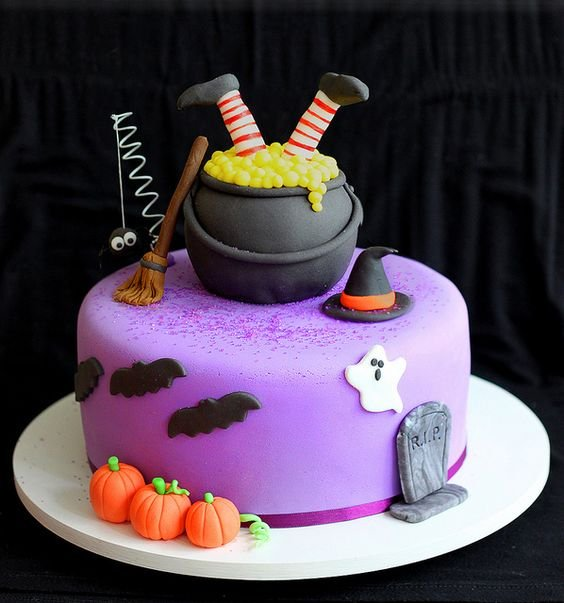 Ideas para decorar pasteles y disfrutar del Halloween