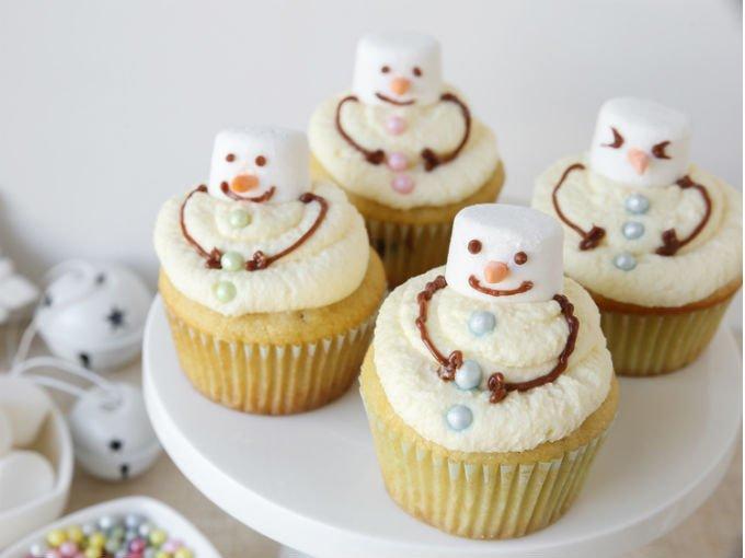 10 Ideas Para Hacer Cupcakes En Navidad