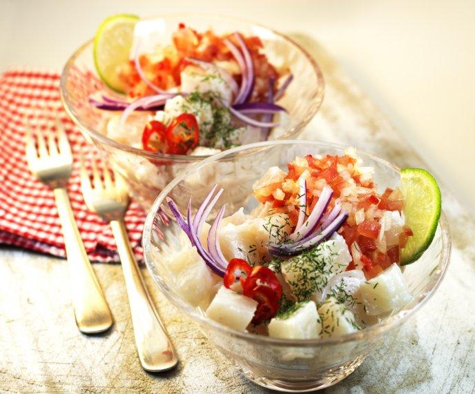 recetas con pescado bajas en calorías