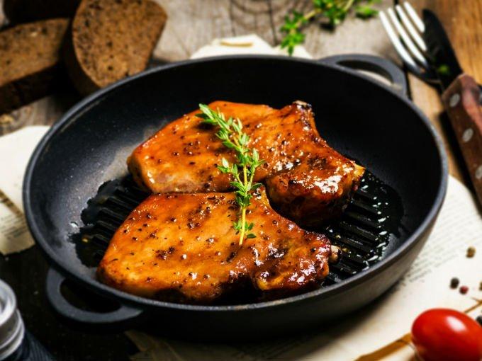 Comidas rapidas y sanas con carne