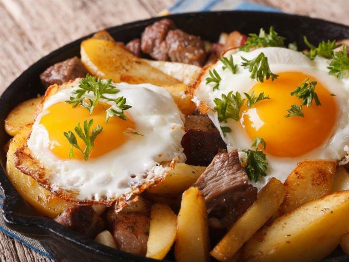 Recetas faciles para cenar con huevos