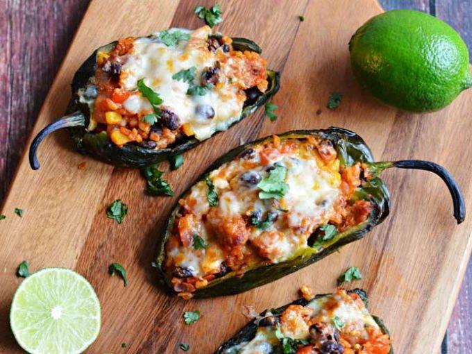 Recetas mexicanas que contengan chile