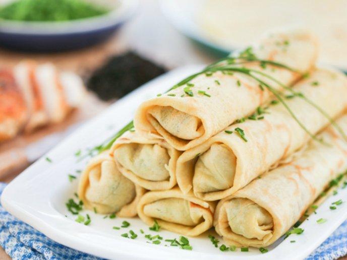 recetas de crepas saladas