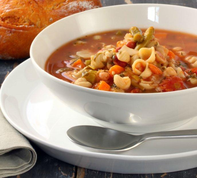 Sopa De Habas Con Nopales Y Coditos Receta Fácil