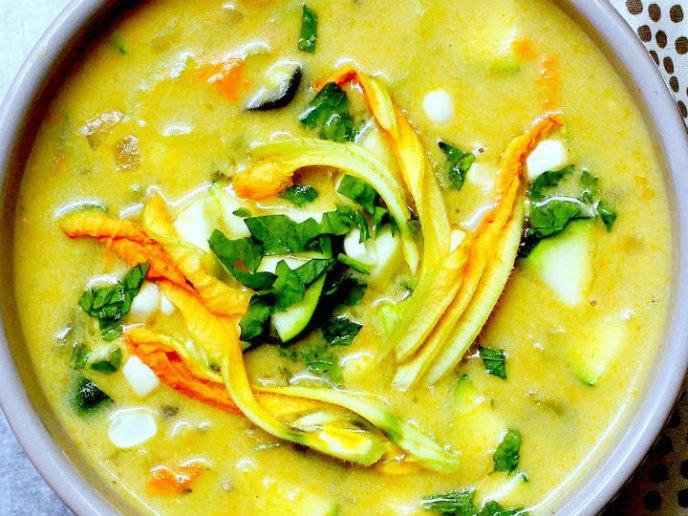 recetas con flor de calabaza | CocinaDelirante
