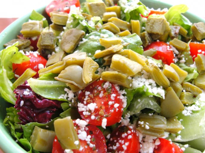recetas de ensaladas saludables y nutritivas