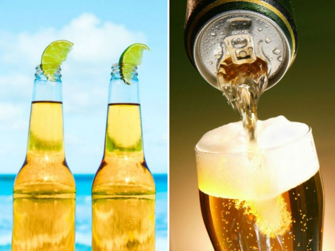 la cerveza sabe mejor en lata o botella | CocinaDelirante