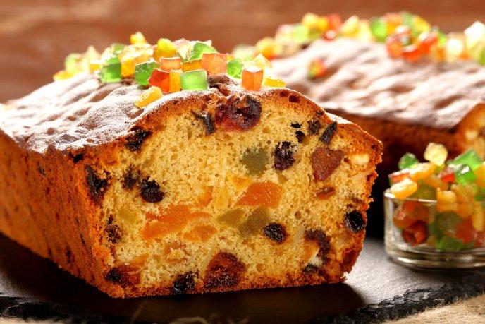 Hornea el pastel más esponjoso de frutos secos con ron