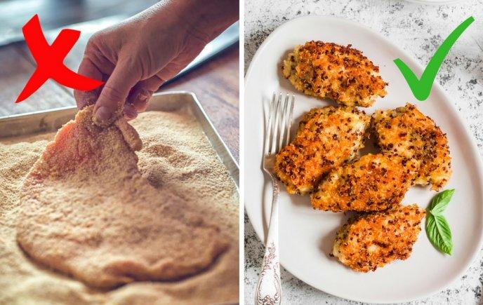 Con que sustituir el pan molido