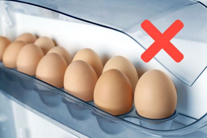 Esta es la forma correcta de guardar los huevos en el refrigerador