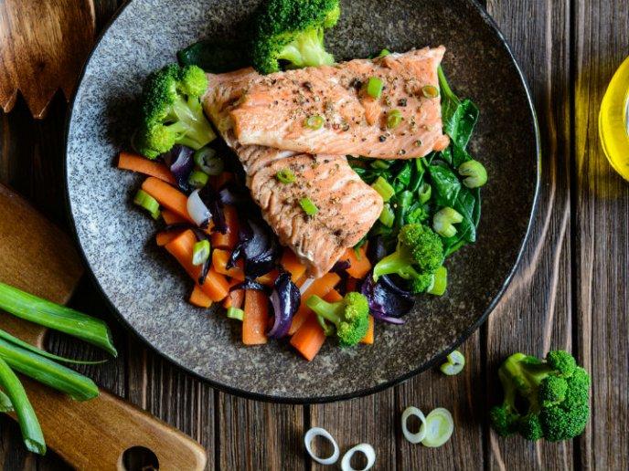 pescado para dieta al horno