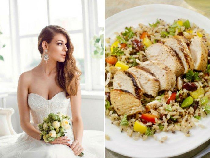 Bajar de peso antes de tu boda