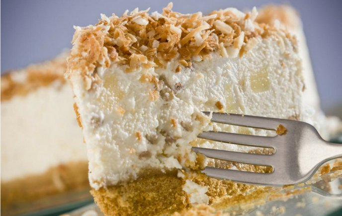 Resultado de imagen para cheesecake coco