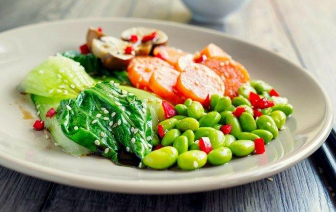 Dieta verduras al vapor
