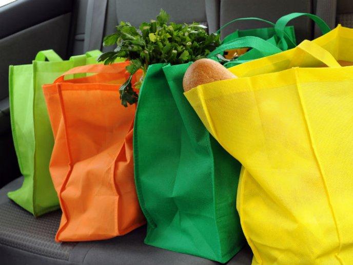 como evitar una intoxicación por utilizar bolsas recicladas