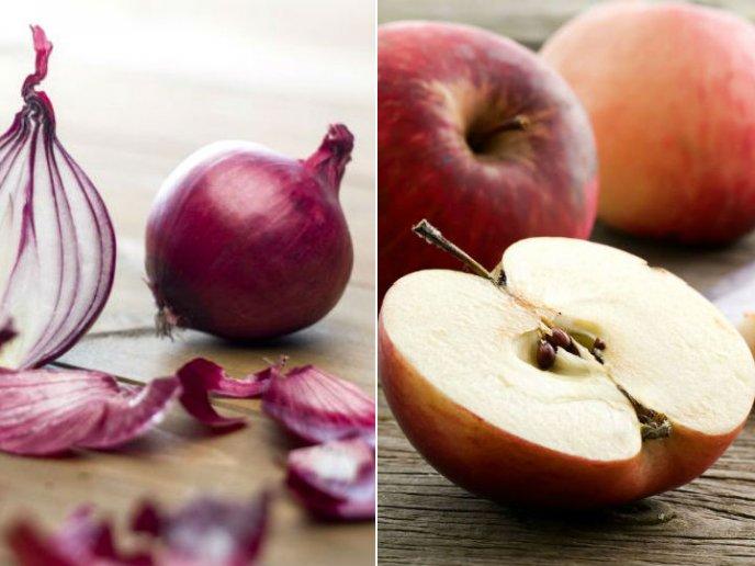 La manzana produce gases estomacales