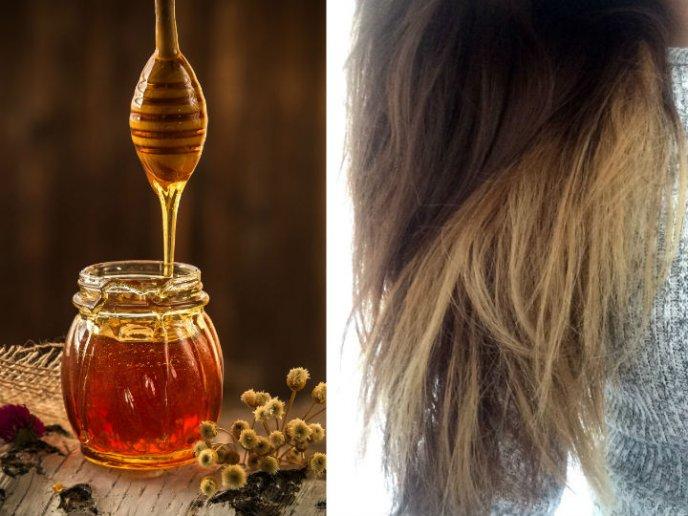 Mascarilla hidratante para el pelo tenido