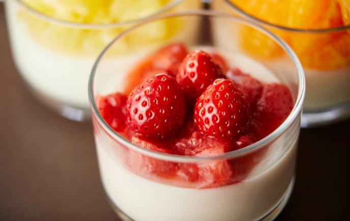 recetas de fresas con crema y lechera