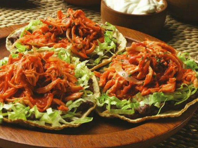 La tinga vegetariana más sabrosa (de jamaica con zanahoria)