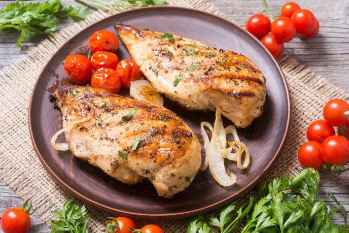 Receta facil y rica de pechugas de pollo al cilantro