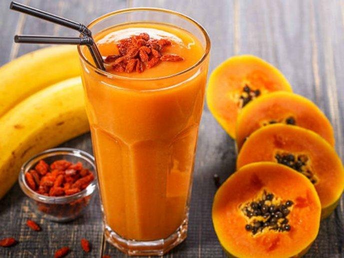 licuado de papaya para bajar de peso ingredientes