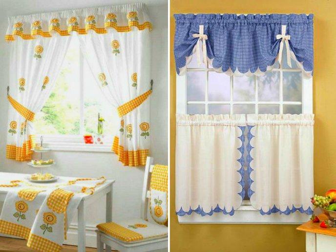db92552c5d5 6 estilos de cortinas para que la cocina luzca hermosa