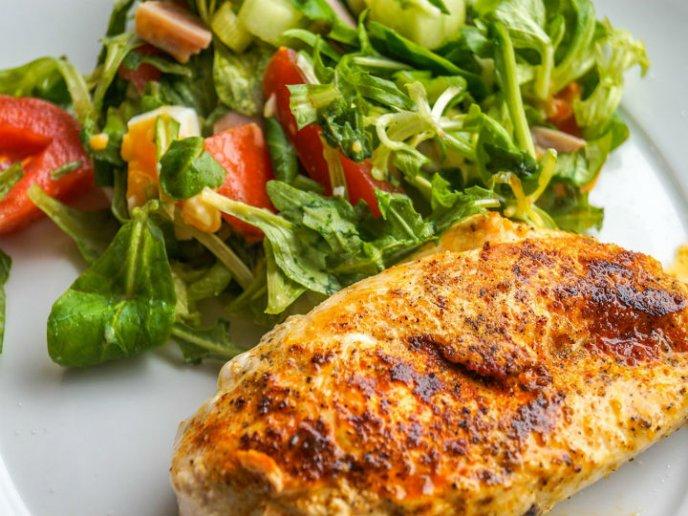 pollo asado bajo en calorias