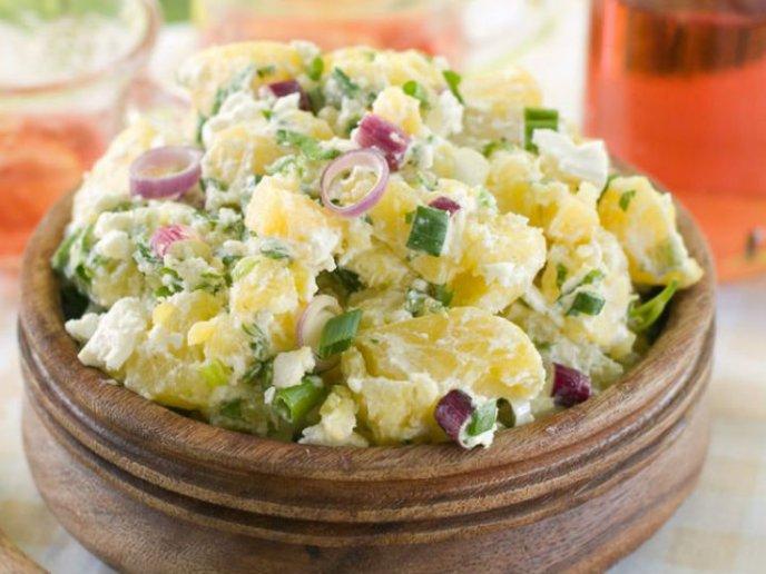 recetas de ensaladas para año nuevo