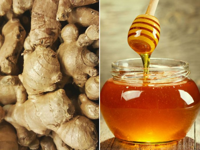Resultado de imagen de miel y jenjibre